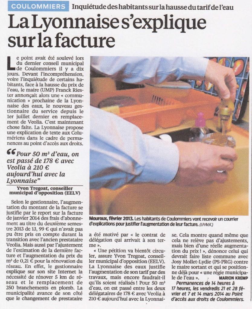 eau le parisien 19 02 2014