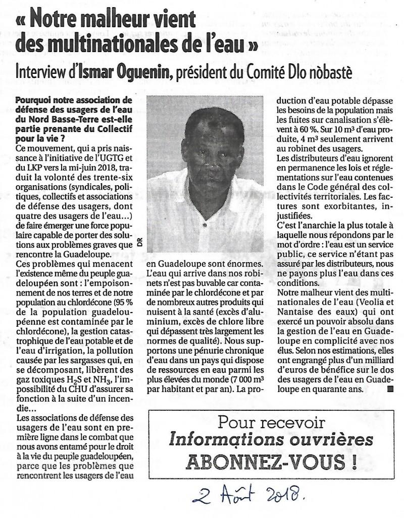 Eau Guadeloupe 020818