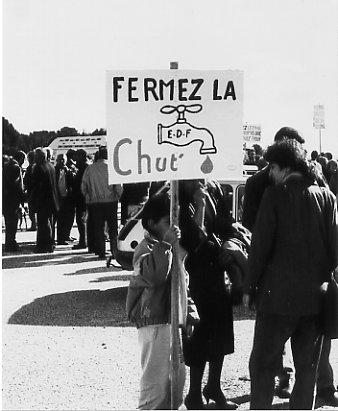 Manifestation du 5 mars 1989 à St-Chamas